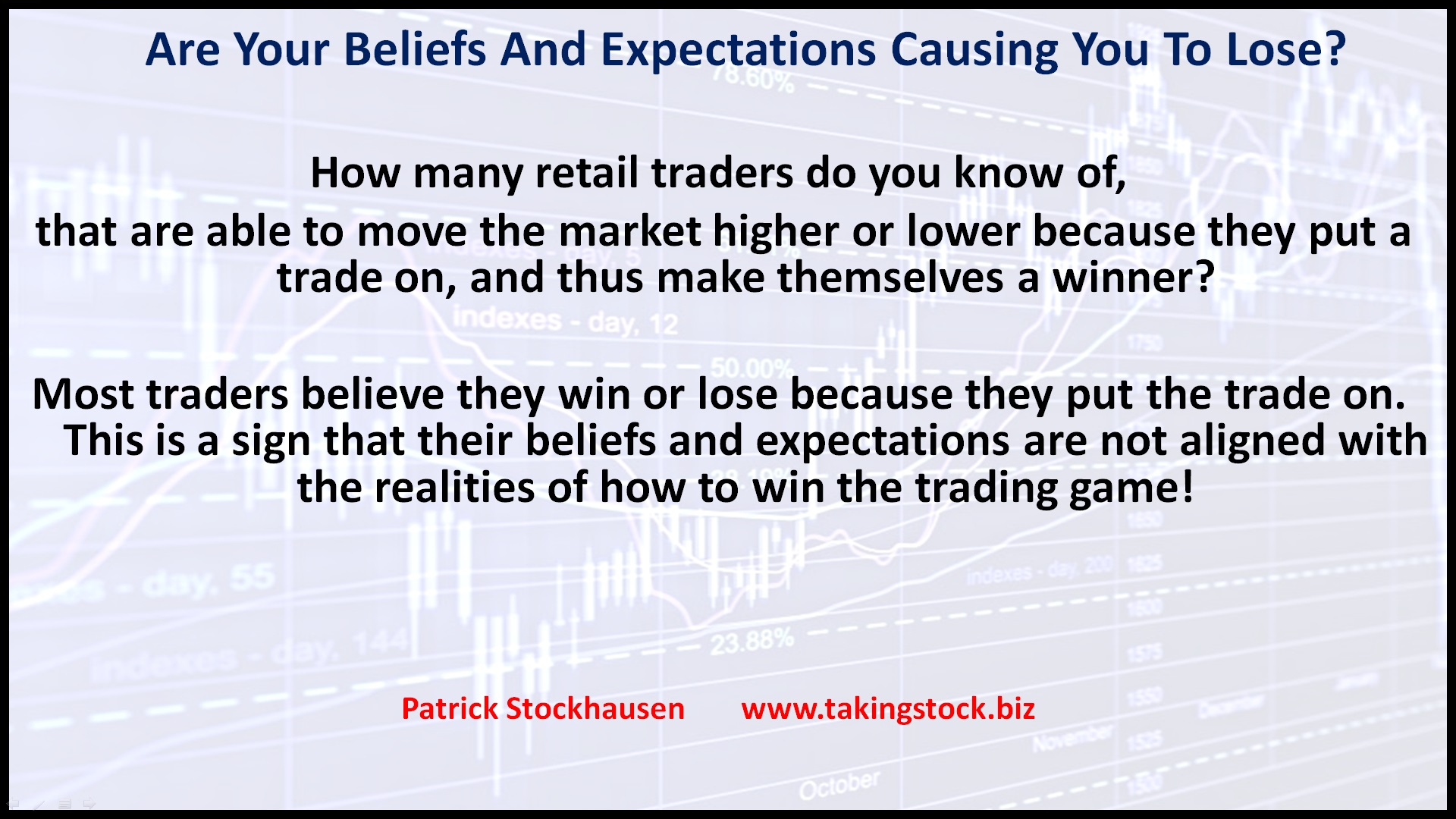 How to develop a profitable trading system