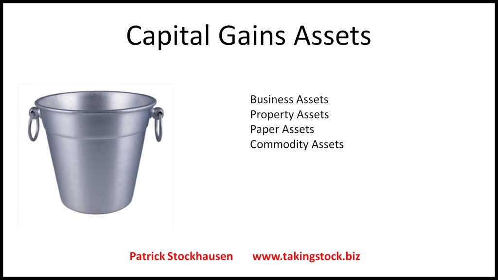 capital gains assets