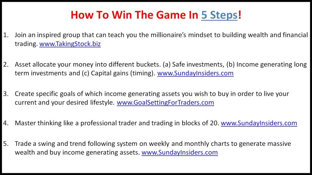 5 step summary 5